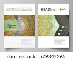 business templates for brochure ... | Shutterstock .eps vector #579342265