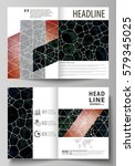 business templates for bi fold... | Shutterstock .eps vector #579345025