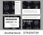 set of business templates for... | Shutterstock .eps vector #579354739