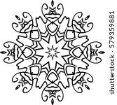 mandala. ethnic decorative...   Shutterstock .eps vector #579359881
