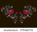 vector design for collar t... | Shutterstock .eps vector #579360751