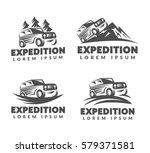 off road car logo. off road... | Shutterstock .eps vector #579371581