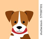 cartoon character   jack... | Shutterstock .eps vector #579387331