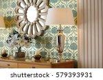 wall mirror in the bedroom | Shutterstock . vector #579393931