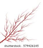 eye vein red vector symbol icon ... | Shutterstock .eps vector #579426145