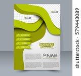 abstract flyer design...   Shutterstock .eps vector #579443089