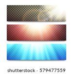 vector light effects set on... | Shutterstock .eps vector #579477559