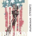 Abstract Usa Patriotic Vector...