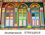 Abstract Colorful Windows