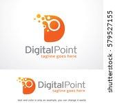 letter d logo template design... | Shutterstock .eps vector #579527155