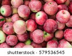 red apples background | Shutterstock . vector #579536545