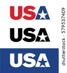 vector usa icon | Shutterstock .eps vector #579537409