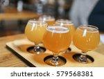 hazy northeast ipa craft beer...   Shutterstock . vector #579568381