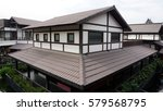 Japanese Style Building With...
