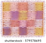 Tapestry With Grunge Striped...