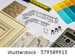 repair  home  renovation ... | Shutterstock . vector #579589915