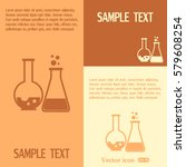 vector illustration test tube... | Shutterstock .eps vector #579608254