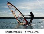 Windsurfing Lessons On The Lak...