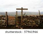 Gate In A Drystone Wall On Pen...