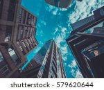 skyscraper buildings and sky... | Shutterstock . vector #579620644