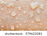 water droplets on the skin... | Shutterstock . vector #579623281