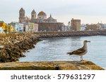 cadiz   beautiful view of cadiz ...   Shutterstock . vector #579631297