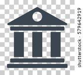 museum icon. vector... | Shutterstock .eps vector #579642919