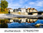 famous old town of bad toelz - bavaria - germany - stock photo