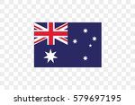 an illustrated country flag of  ... | Shutterstock .eps vector #579697195