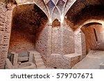 shahdad  old mill on the silk... | Shutterstock . vector #579707671