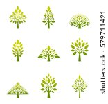 ecology icon set. eco icons... | Shutterstock .eps vector #579711421