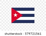an illustrated country flag of  ... | Shutterstock .eps vector #579721561