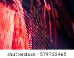 bright colored led video wall... | Shutterstock . vector #579733465