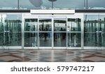 airport terminal building gate... | Shutterstock . vector #579747217