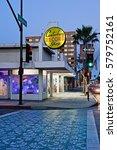 pasadena california   feb. 12 ... | Shutterstock . vector #579752161