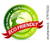 Eco Friendly Natural Sign