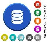 database round color beveled... | Shutterstock .eps vector #579755611