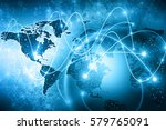 best internet concept of global ... | Shutterstock . vector #579765091