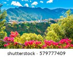 Mountain Village In Madeira...