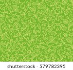 seamless floral pattern... | Shutterstock .eps vector #579782395