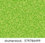 seamless floral pattern... | Shutterstock . vector #579786499