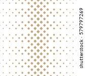 halftone gold diamond geometric ... | Shutterstock .eps vector #579797269
