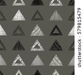 seamless vector geometrical... | Shutterstock .eps vector #579815479