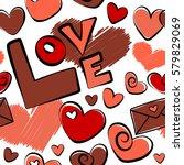 Vector Valentine Seamless...