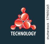 vector logo technology   Shutterstock .eps vector #579850165