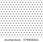 raster monochrome seamless... | Shutterstock . vector #579858361