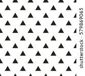 triangle pattern. geometrical... | Shutterstock .eps vector #579869065