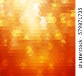 abstract colorful orange vector ... | Shutterstock .eps vector #579871735