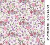 elegant gentle trendy pattern... | Shutterstock .eps vector #579913705