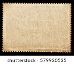 vintage grunge texture posted... | Shutterstock . vector #579930535